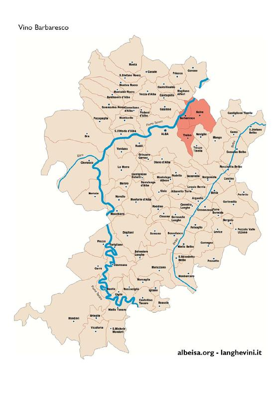 Langhe Region Italy Map.Docg Laws Miketadich International Barbaresco